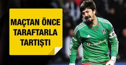 Beşiktaş taraftarı Tolga Zengin ile kapıştı
