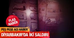 Diyarbakır'ın Dicle ilçesinde saldırı!