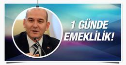 Süleyman Soylu'dan emekli olacaklara müjdeli haber