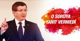 Ahmet Davutoğlu'nun yanıt vermediği AK Parti sorusu