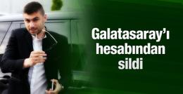 Burak Yılmaz Galatasaray'ı hesabından sildi