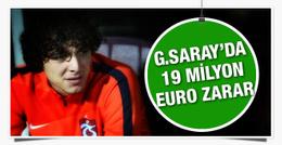 Galatasaray'ın opsiyon zararı 13 milyon euro