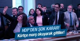 HDP'den flaş karar! Terk ettiler!