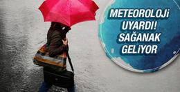 Yeni haftada sağanak yağış uyarısı