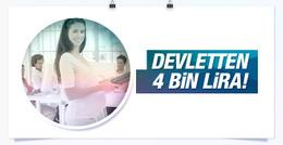 Hamile çalışanlara devletten 4 bin lira!