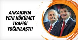 Binali Yıldırım, Ahmet Davutoğlu ile görüştü