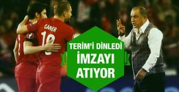 Caner Erkin Fatih Terim'i dinledi imzayı atıyor
