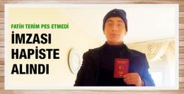 Hapishaneden gelen imza Emre Mor'u Türk yaptı!
