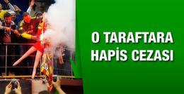 Galatasaray flaması yakan Fenerbahçeli'ye hapis