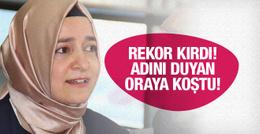 Fatma Betül Sayan Kaya Google'da rekor kırdı