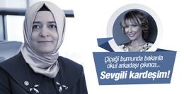 Fatma Betül Sayan Kaya Gülse Birsel'in okul arkadaşı çıkınca...