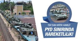TSK'dan PYD sınırına obüs takviyesi!
