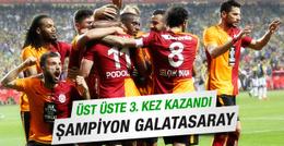 Galatasaray Fenerbahçe Türkiye Kupası final maçı sonucu