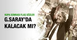 Riekerink Galatasaray'da kalacak mı?