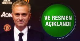 Manchester United Mourinho'yu resmen açıkladı
