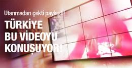 Türkiye bu videoyu konuşuyor! Utanmadan çekti paylaştı