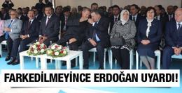 Protokol hatasına Erdoğan müdahale etti!