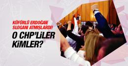 O sloganı atanlar CHP Buca üyeleri çıktı