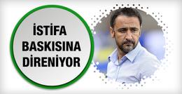 Fenerbahçe Pereira'ya istifa baskısı yapıyor