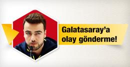 Fenerbahçe'nin kaptanından Galatasaray'a olay gönderme
