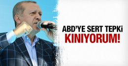 Erdoğan'dan ABD'ye çok sert PYD tepkisi! Kınıyorum