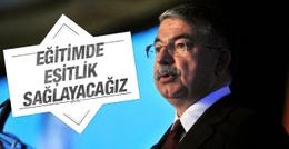 Milli Eğitim Bakanı Yılmaz'dan eşitlik açıklaması