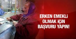 Bağ-Kur'luya erken emeklilik müjdesi