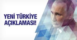 Rusya'dan olay Türkiye açıklaması: hala anlayamadım!