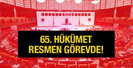 65. Hükümet'in güven oylaması sonucu açıklandı