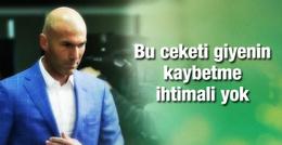 Sosyal medyada Zidane'ın ekose ceketi konuşuluyor