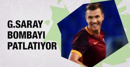 Galatasaray Edin Dzeko bombasını patlatıyor