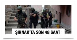PKK'lı teröristler Şırnak'ta köşeye sıkıştı
