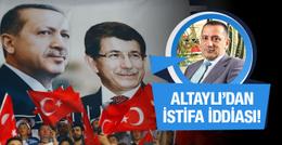 Altaylı'dan bomba Davutoğlu iddiası