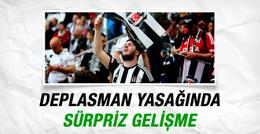 Derbi yasağı kalktı! Beşiktaşlılar TT Arena'ya gidiyor
