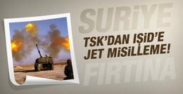IŞİD hudut karakoluna saldırdı TSK anında vurdu!