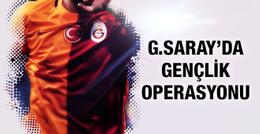 Galatasaray'da gençlik operasyonu!
