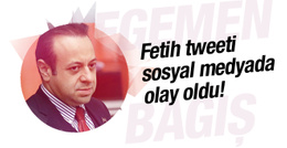 Egemen Bağış'ın Fetih tweeti sosyal medyada TT oldu!