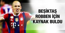Beşiktaş Robben için kaynak buldu