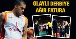 Galatasaray Fenerbahçe derbisine ağır fatura