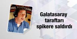 Galatasaray taraftarı Murat Murathanoğlu'na saldırdı