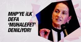Meral Akşener: MHP'ye ilk kez 'muhalefet' deniliyor!