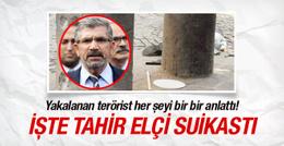Teslim olan teröristten olay Tahir Elçi Suikastı itirafı!