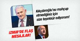 Binali Yıldırım'dan İzmir'de flaş mesajlar!