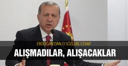 Erdoğan'dan muhalefete yargı cevabı