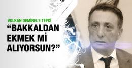 Ahmet Nur Çebi Volkan Demirel'e ateş püskürdü
