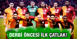 Galatasaray derbi öncesi büyük bir kriz yaşıyor