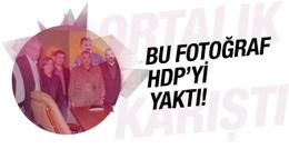 Bu fotoğraf HDP'yi yaktı! İhbar edilince...