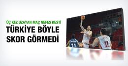 Galatasaray Türk Telekom maçında tarihi skor