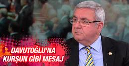 Metiner'den ilginç Davutoğlu tweeti!