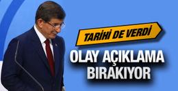 Ahmet Davutoğlu'ndan son dakika haberleri MYK kararı ne?